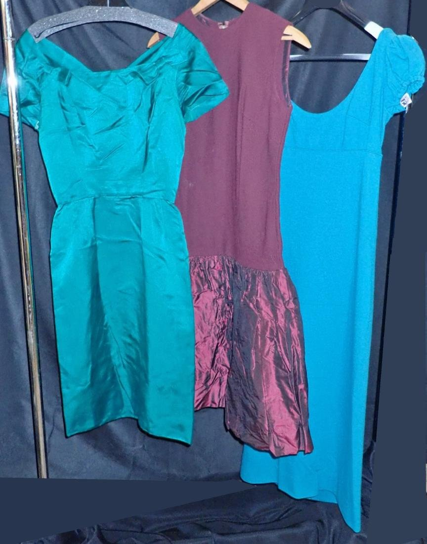 Collection of Three Womens Vintage Dresses