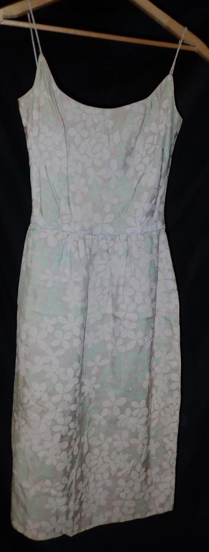 Three Vintage Designer Floral Strappy Dresses - 4