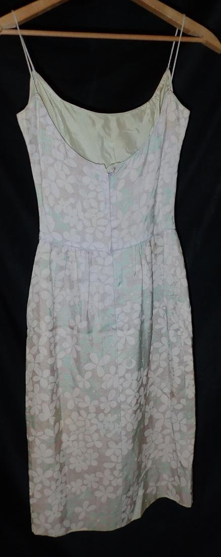 Three Vintage Designer Floral Strappy Dresses - 5