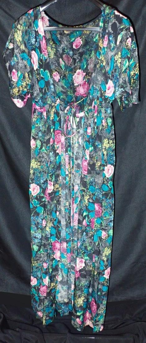 3 Vintage Womens Designer Robes - 2