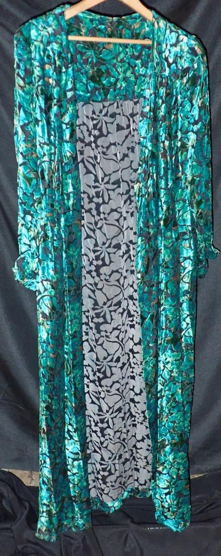 3 Vintage Womens Designer Robes - 6