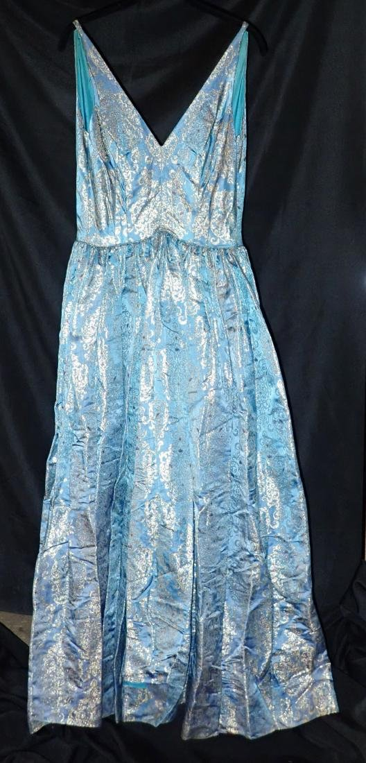 Two Vintage Womens Designer Evening Gowns - 2