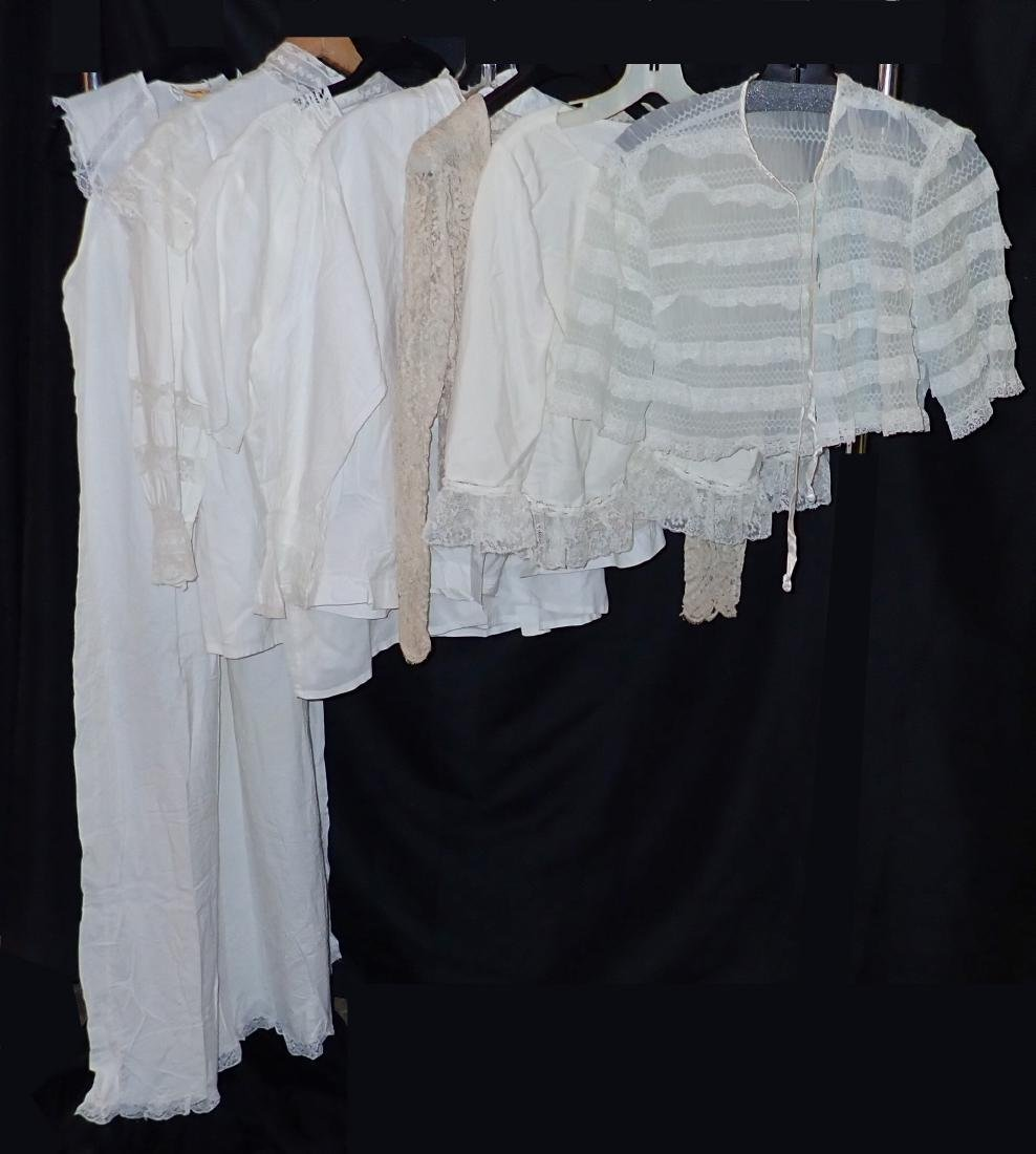 Vintage French Lace Apparel Assortment