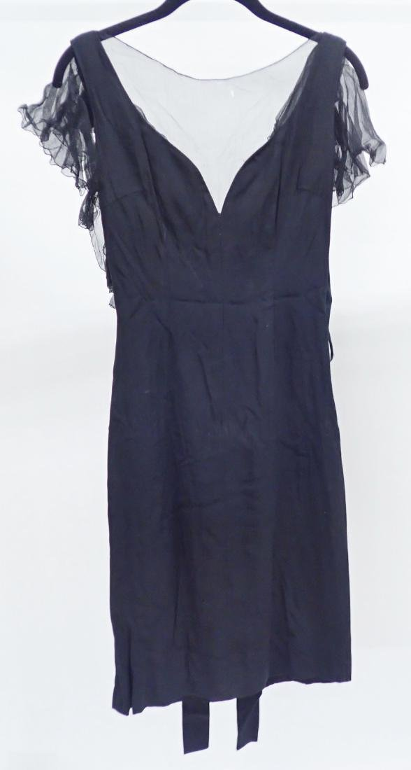 Three Vintage Designer Little Black Dresses - 4