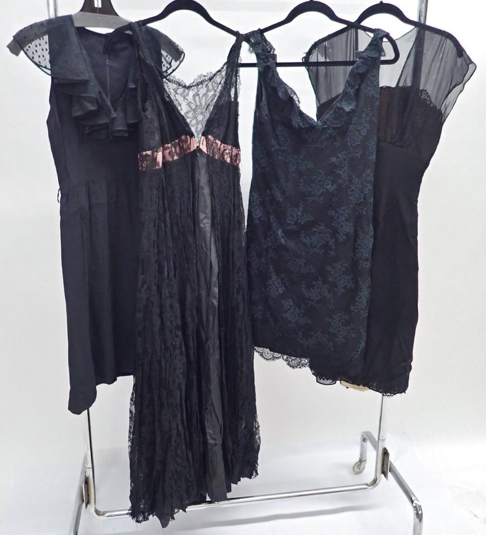 Vintage Black Lace Accent Dress Assortment