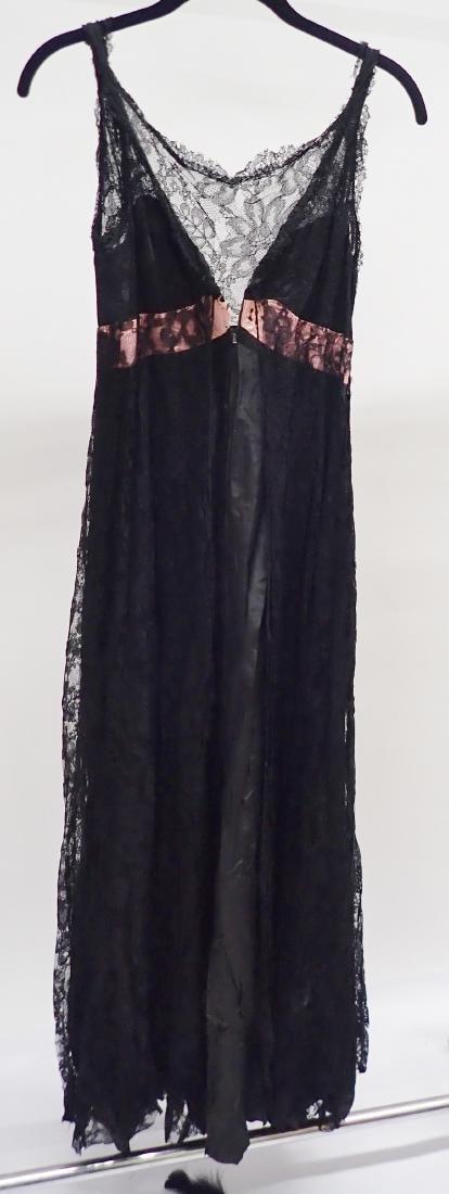 Vintage Black Lace Accent Dress Assortment - 2