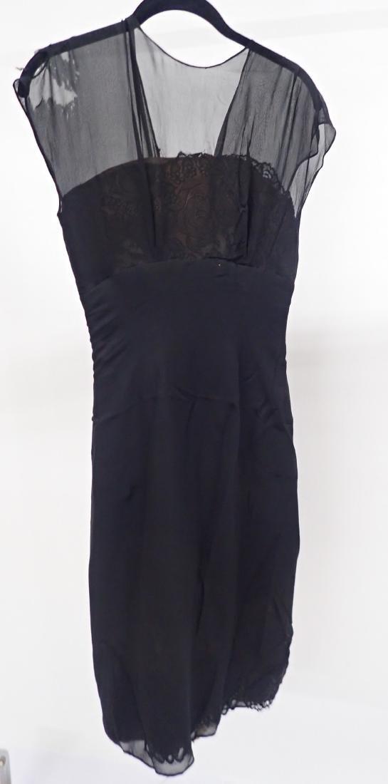 Vintage Black Lace Accent Dress Assortment - 6