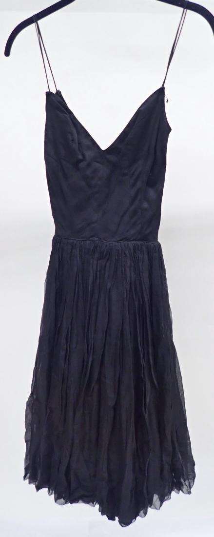 Three Assorted Vintage Black Dresses - 4