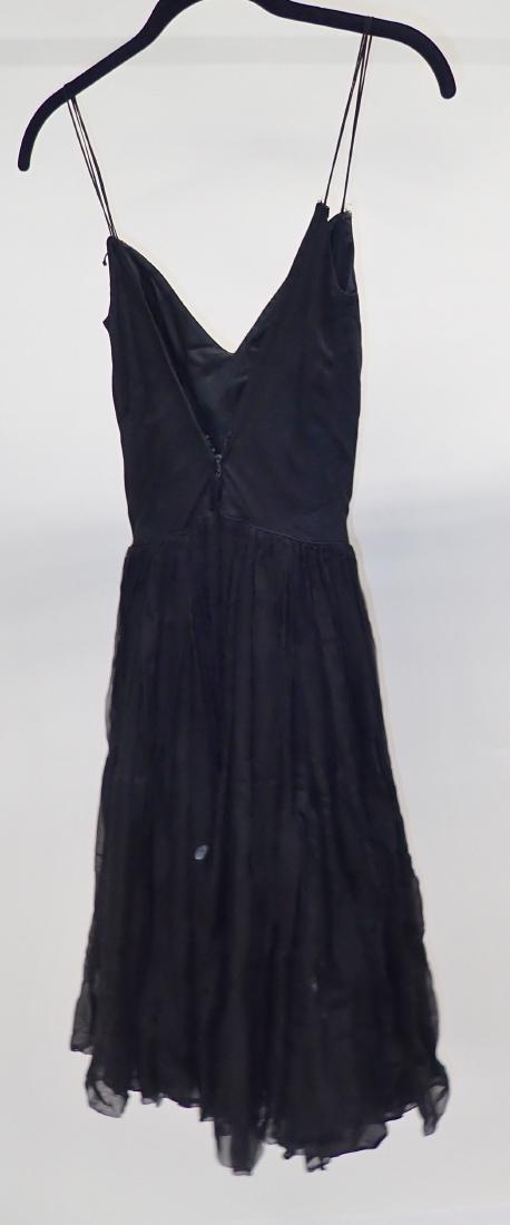 Three Assorted Vintage Black Dresses - 5
