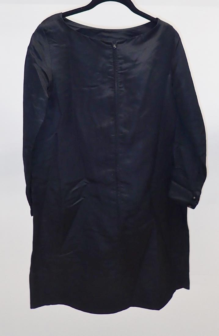 Three Assorted Vintage Black Dresses - 7