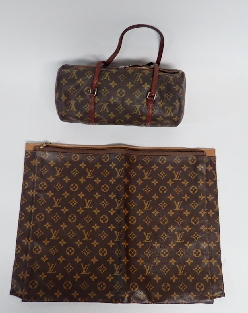 Two Vintage Louis Vuitton Monogram Bags