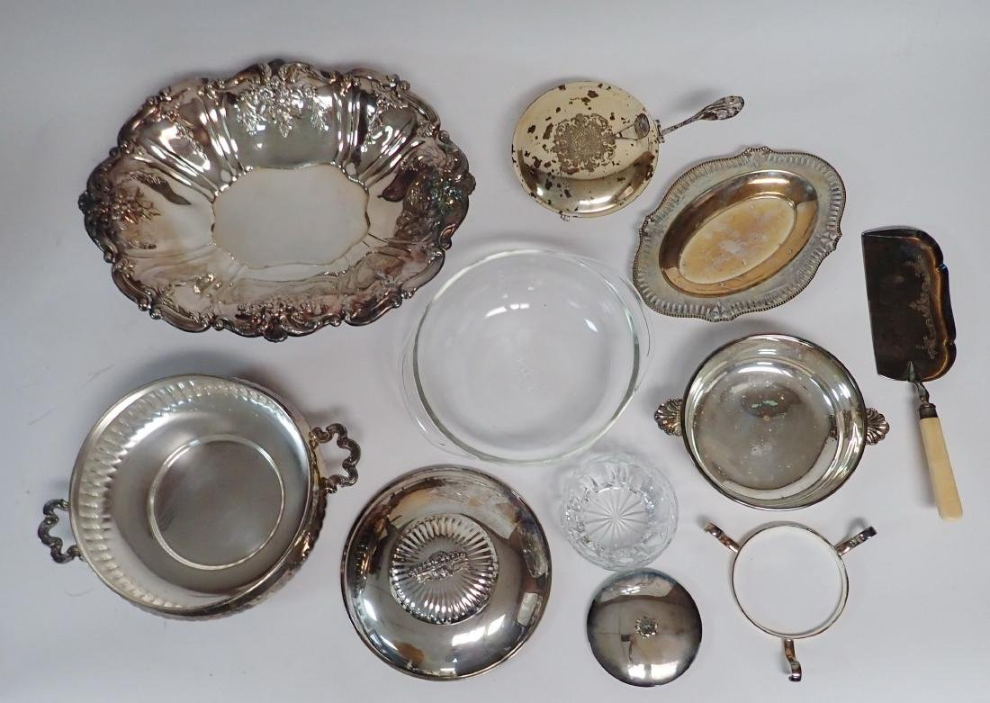 Vintage Silverplate Serving Ware Assortment - 4