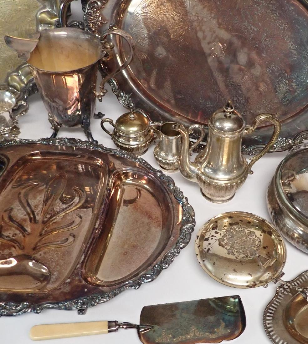 Vintage Silverplate Serving Ware Assortment - 7