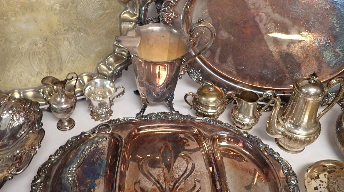 Vintage Silverplate Serving Ware Assortment - 8
