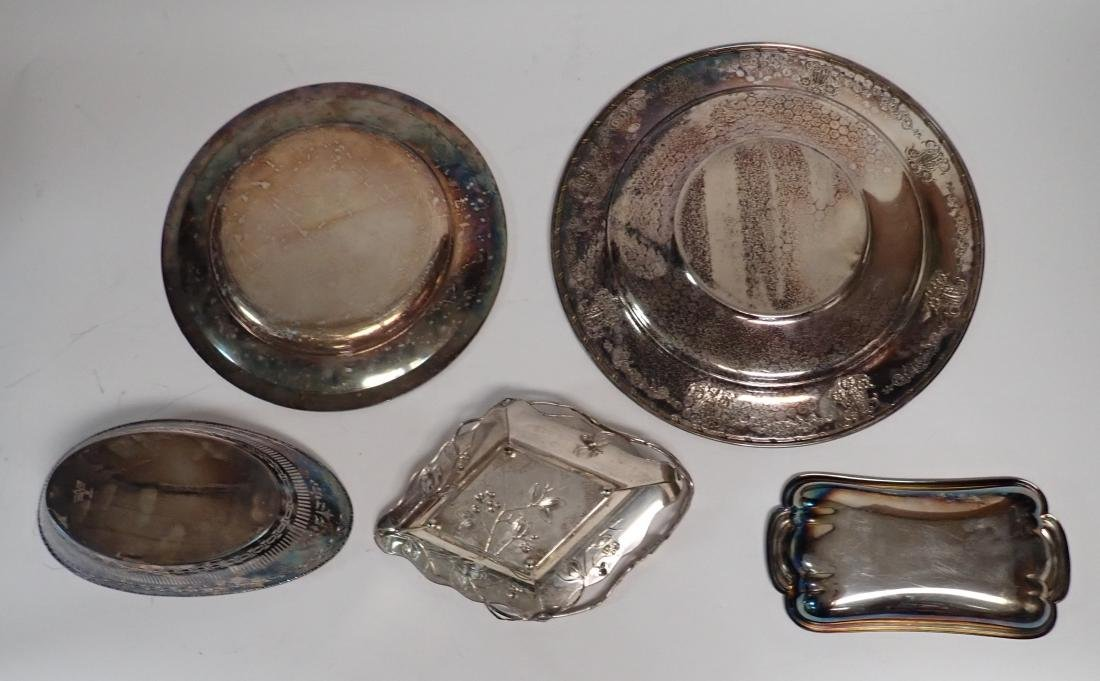 Collection of Vintage Silverplate Serving Ware - 3