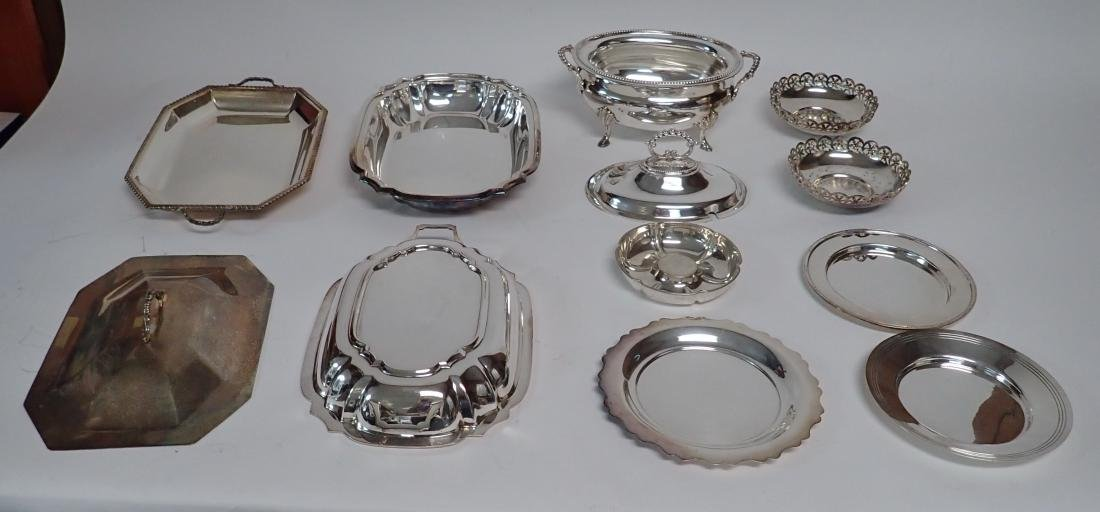 Collection of Vintage Silverplate Serving Ware - 4