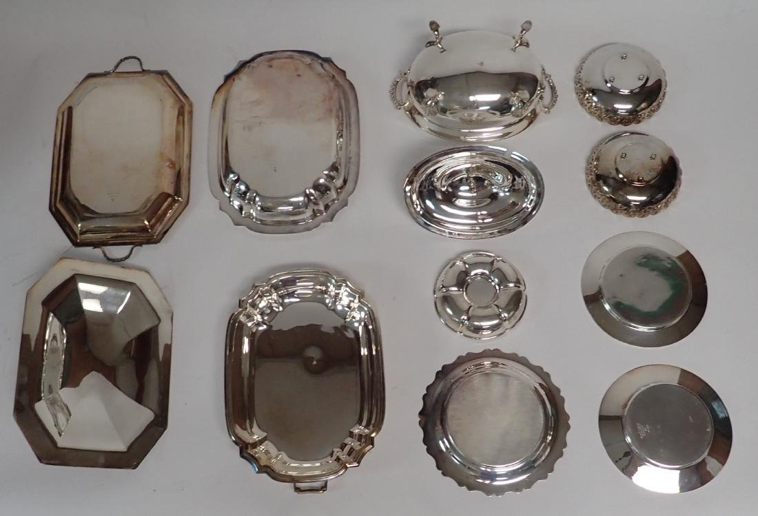 Collection of Vintage Silverplate Serving Ware - 5