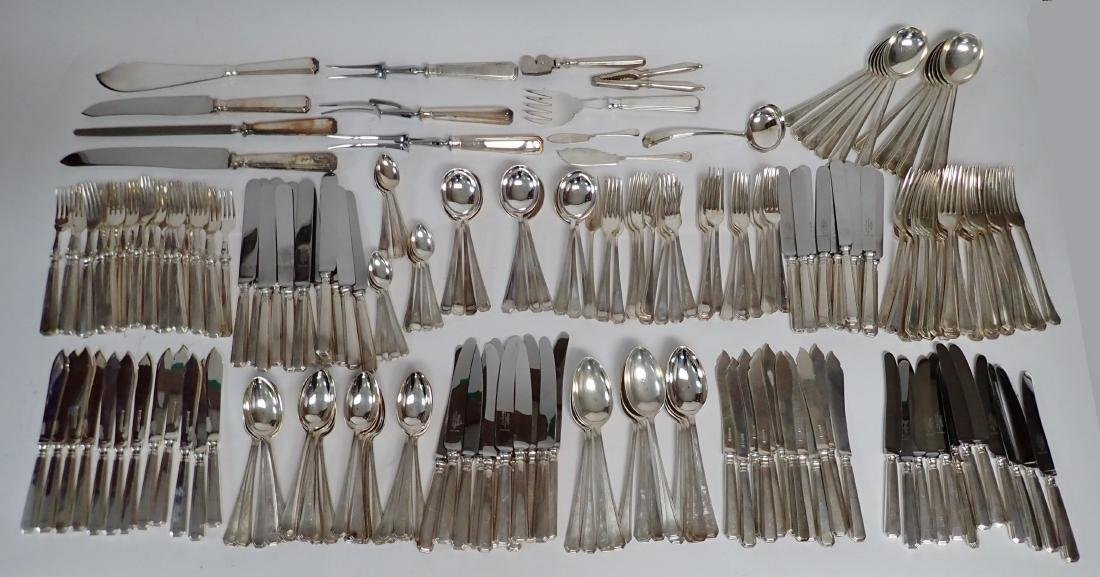 Mappin & Webb Silver Plate Flatware Collection