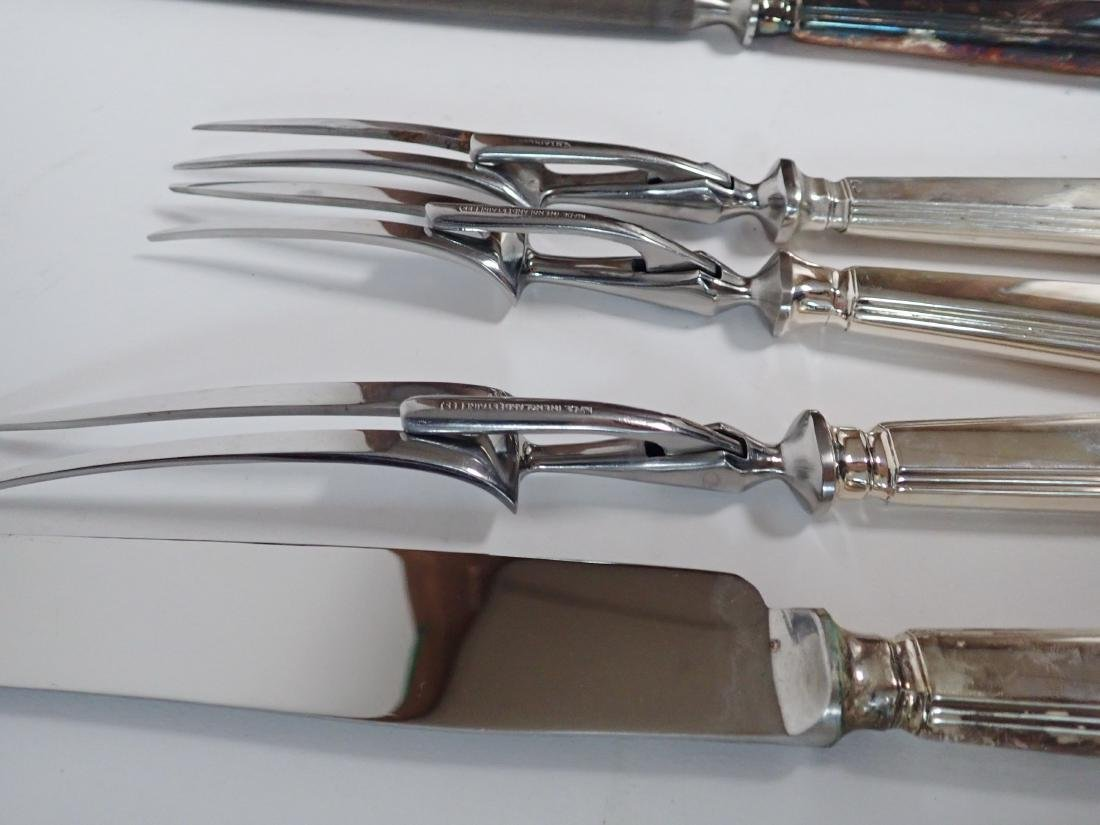 Mappin & Webb Silverplate Flatware Collection - 7