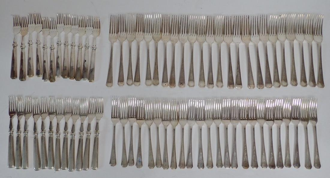 Mappin & Webb Silverplate Flatware Collection - 8