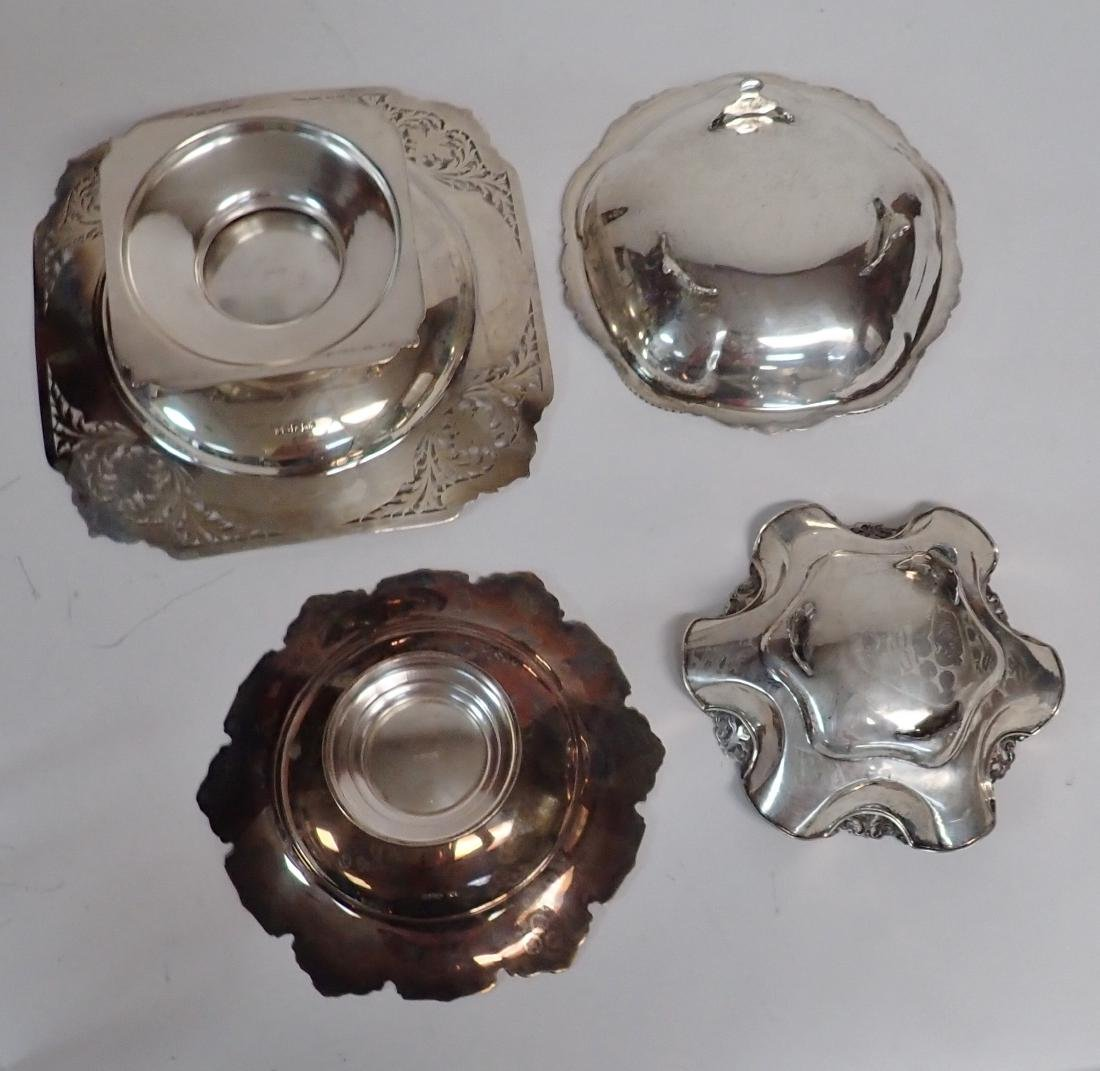 Footed Sterling Silver Bowl Assortment - 5