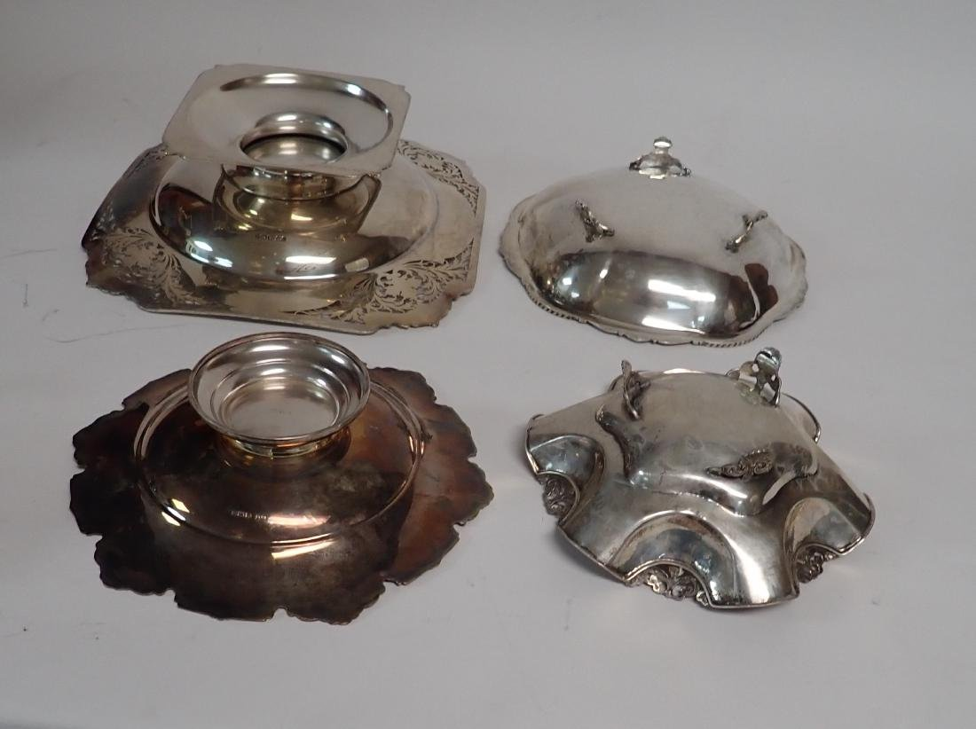 Footed Sterling Silver Bowl Assortment - 6
