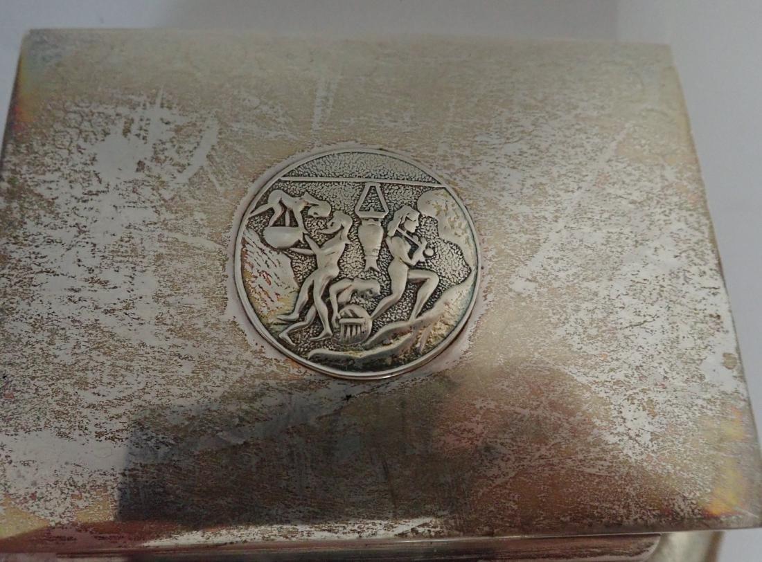 Vintage Silver Cigarette Box Collection - 7