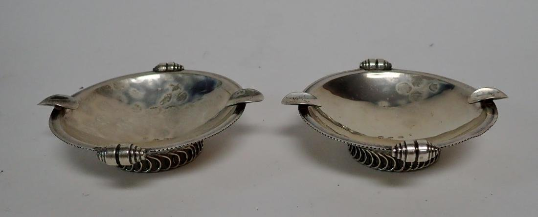 Vintage Sterling Silver Ashtray Collection - 6