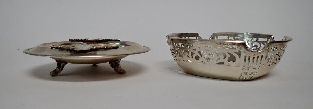 Vintage Sterling Silver Ashtray Collection - 8