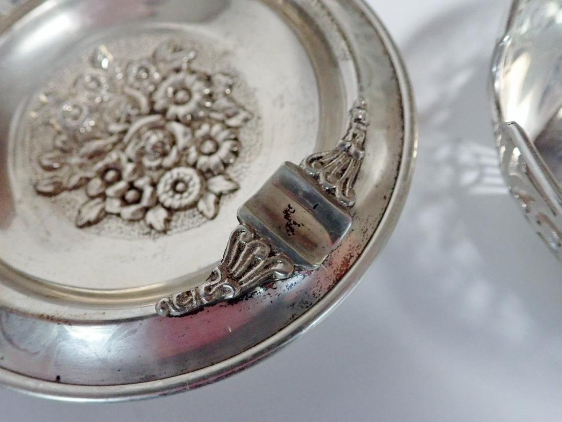Vintage Sterling Silver Ashtray Collection - 9