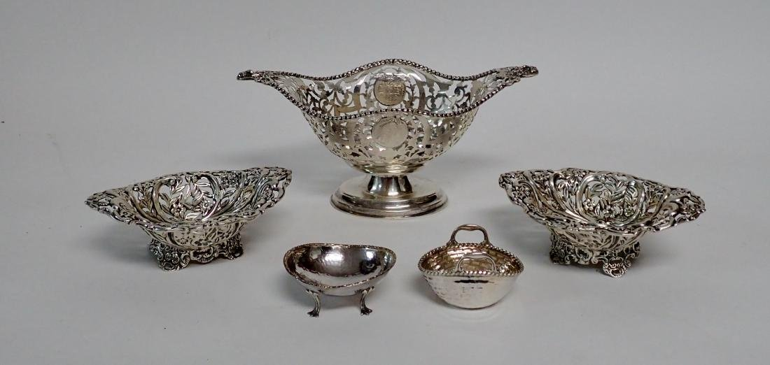 Five Assorted Sterling Silver Bowls