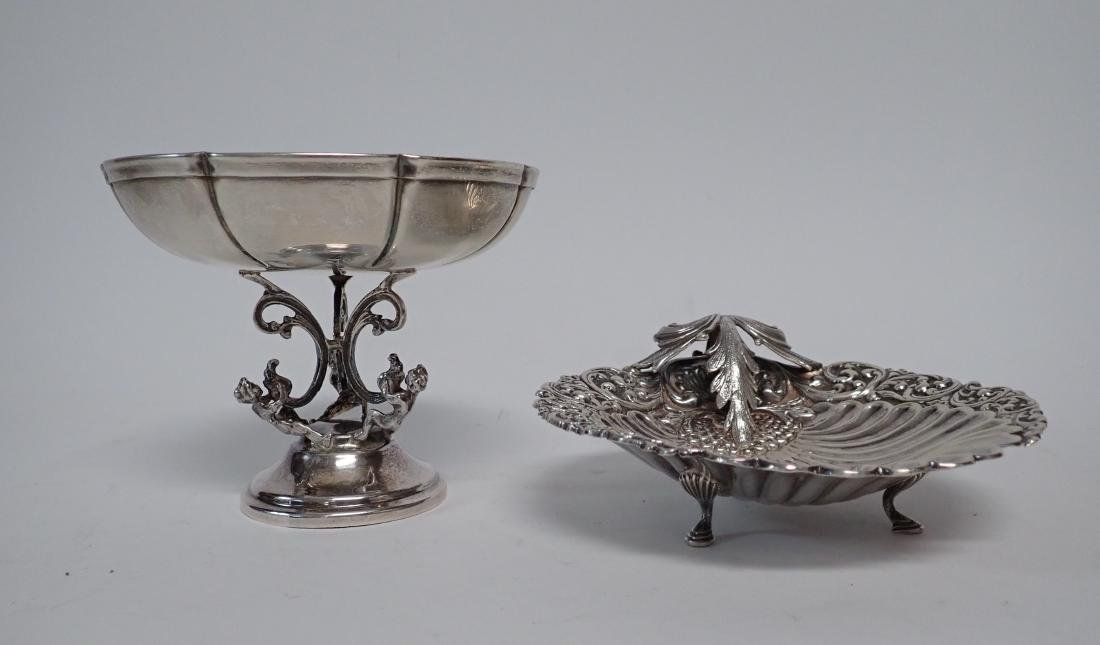 Sterling Silver Compote & Footed Bowl