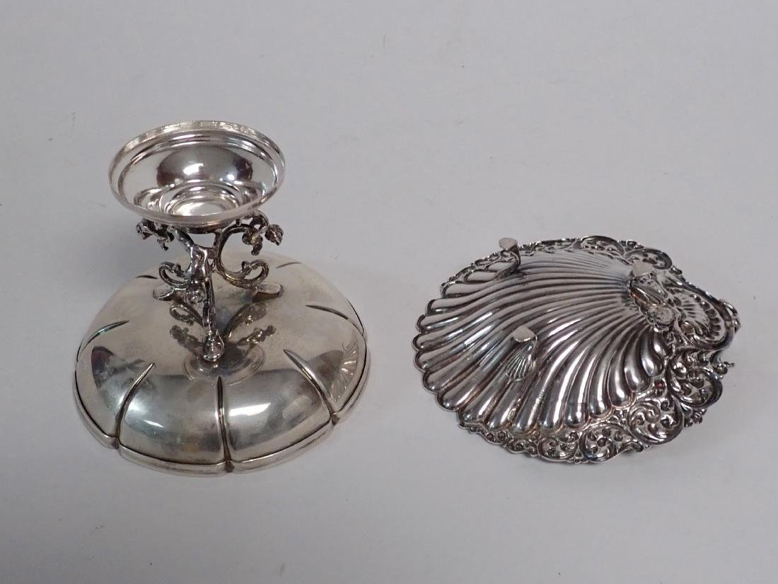 Sterling Silver Compote & Footed Bowl - 6