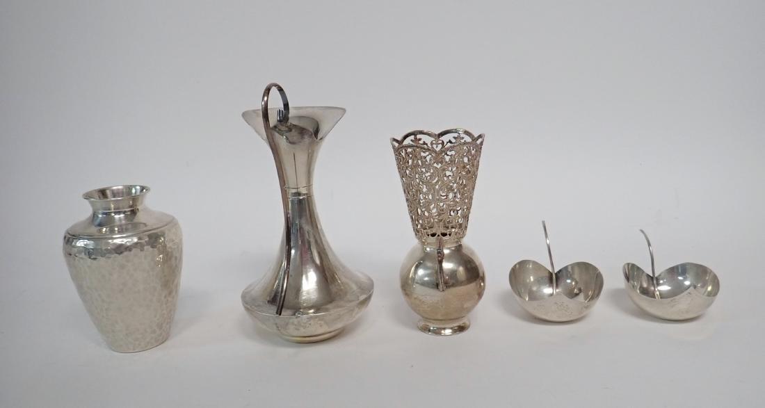 Vintage Sterling Silver Vessel Assortment - 5