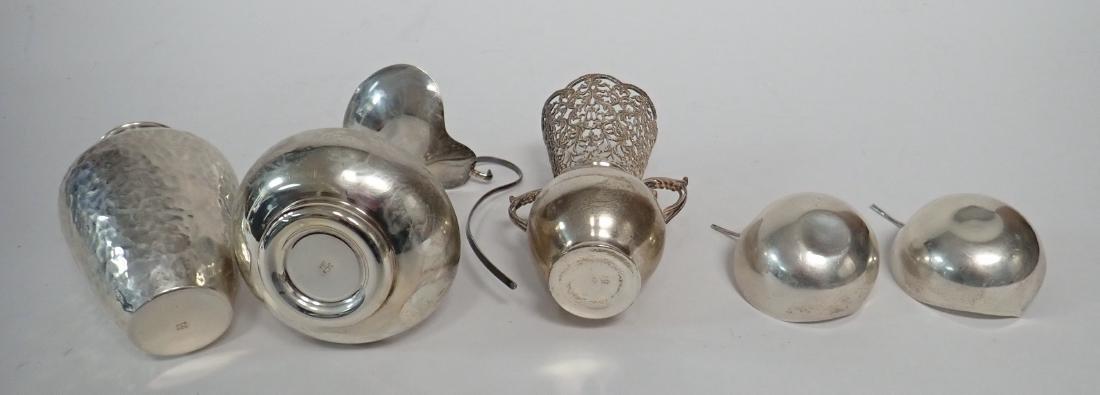 Vintage Sterling Silver Vessel Assortment - 7