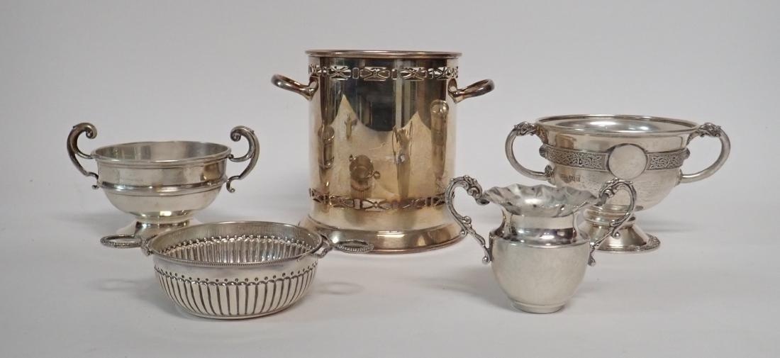 Sterling Silver Vintage Handled Vessels