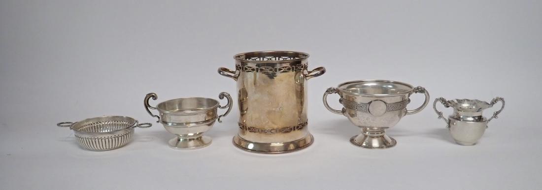 Sterling Silver Vintage Handled Vessels - 2