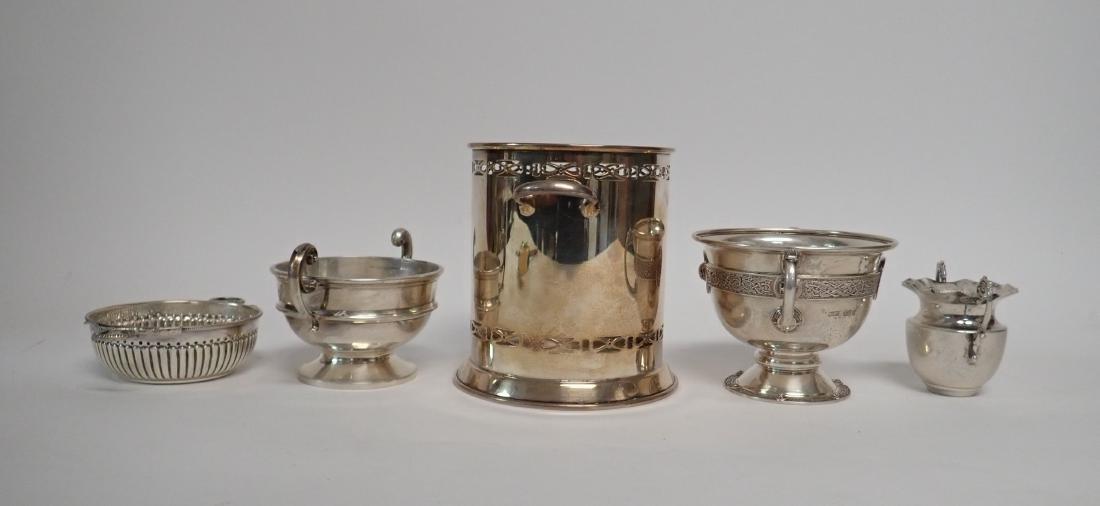Sterling Silver Vintage Handled Vessels - 3