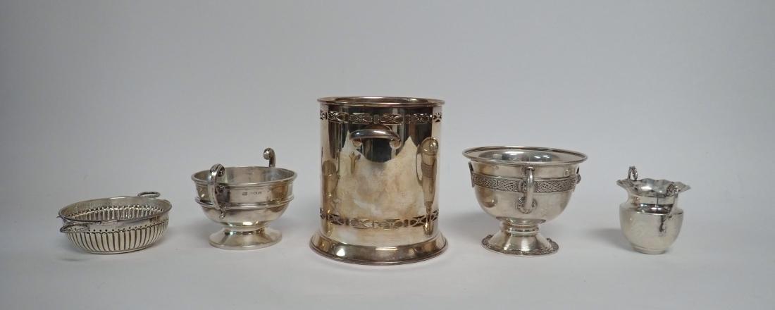 Sterling Silver Vintage Handled Vessels - 5