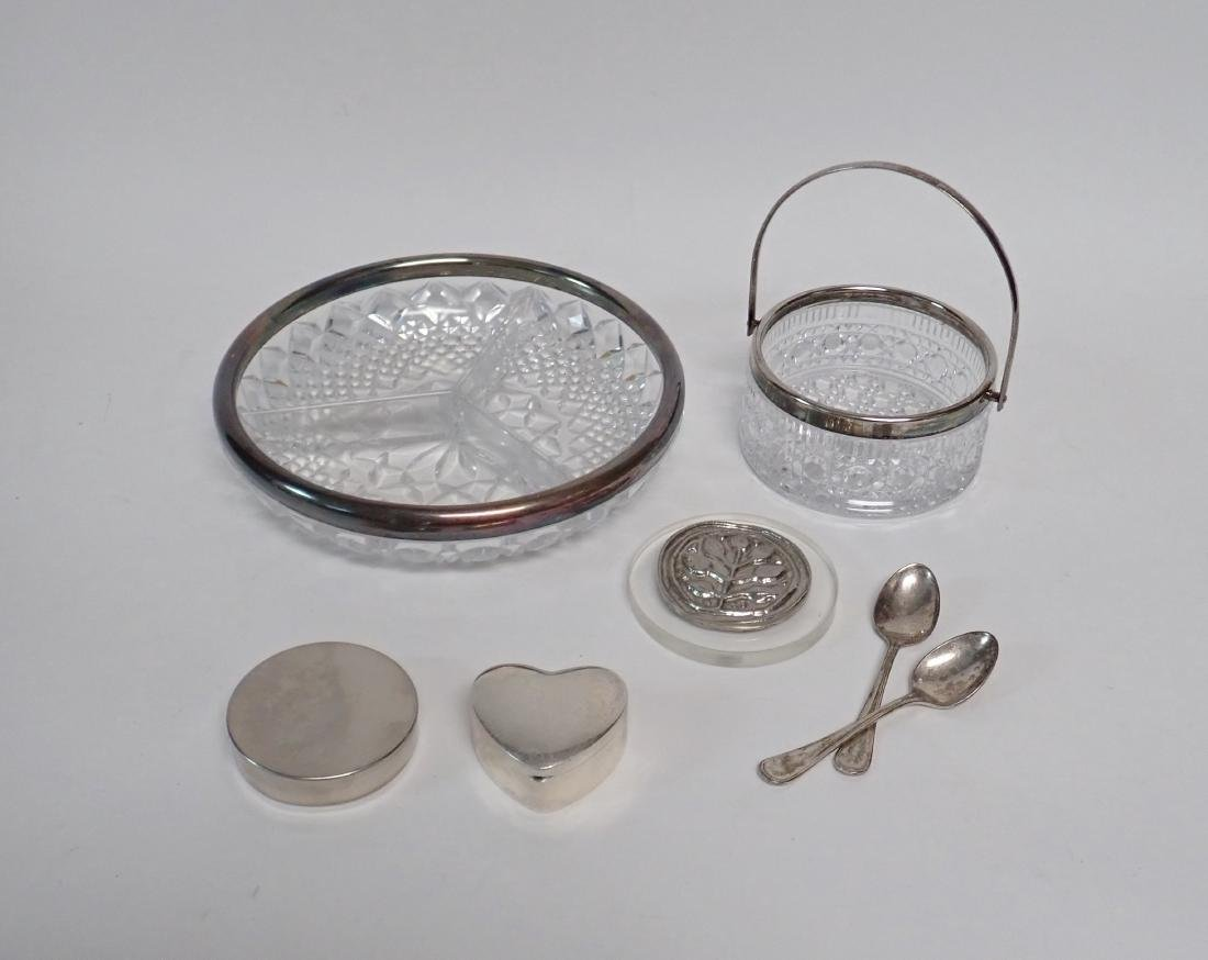 Assorted Decorative Silver Collection