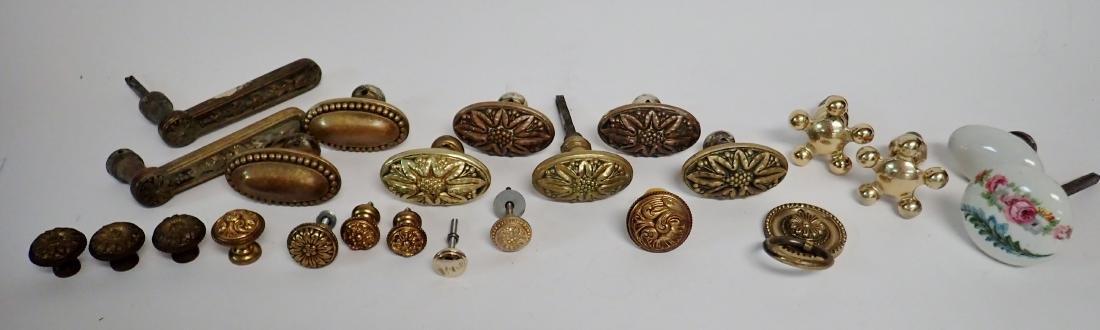 Assorted Vintage Handles, Pulls & Knobs