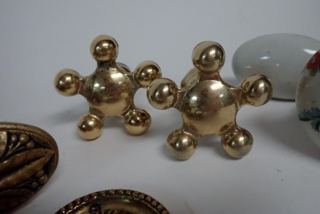 Assorted Vintage Handles, Pulls & Knobs - 9