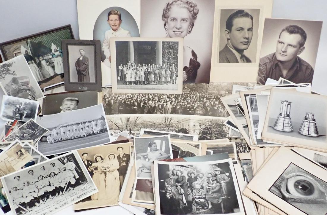 Collection of Vintage Professional Photographs