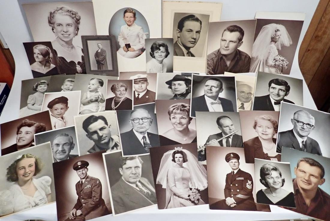 Collection of Vintage Professional Photographs - 4