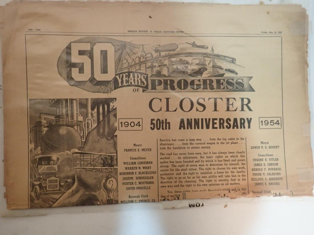 Grouping of Vintage Newspapers (1930's-1970's) - 10