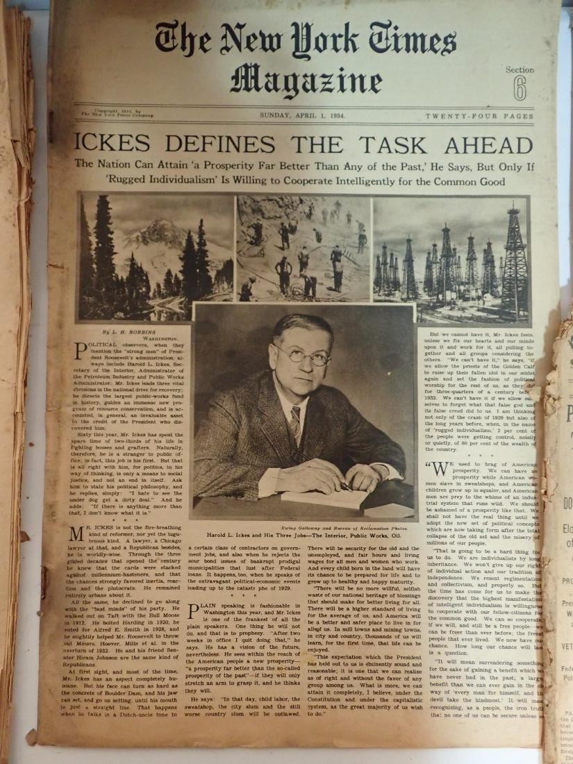 Grouping of Vintage Newspapers (1930's-1970's) - 8