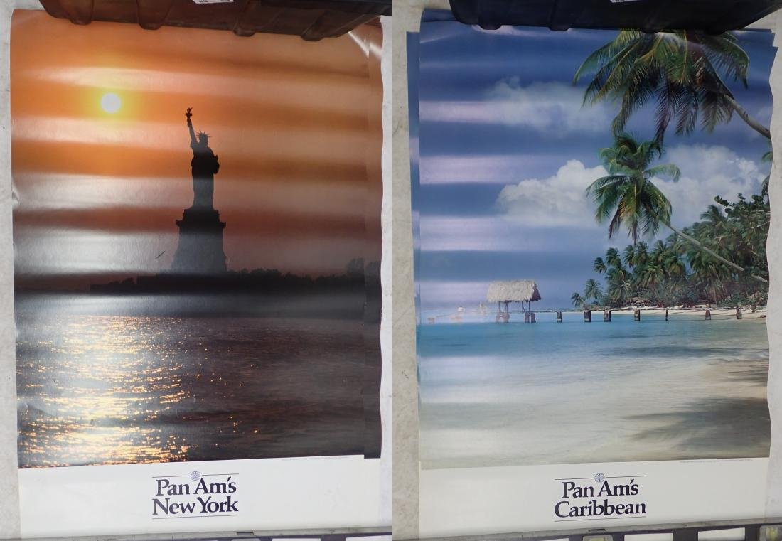 Grouping of Vintage Pan American Airways Posters - 2