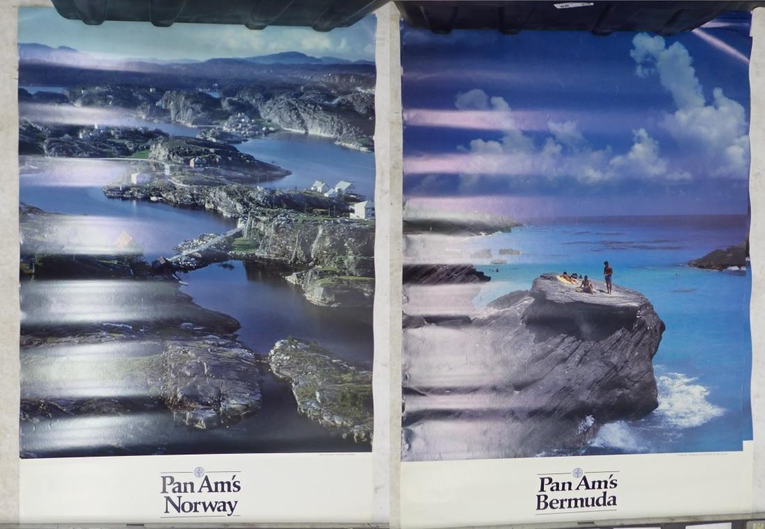 Grouping of Vintage Pan American Airways Posters - 3