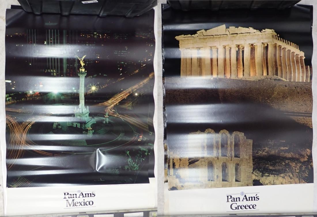 Grouping of Vintage Pan American Airways Posters - 4