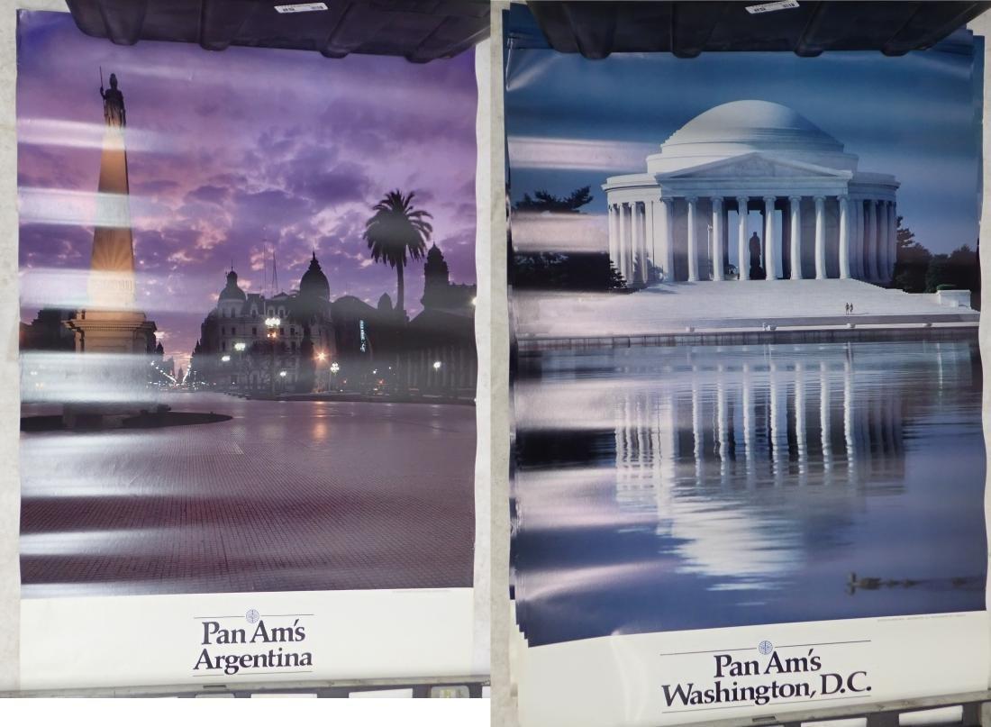 Grouping of Vintage Pan American Airways Posters - 7